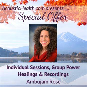 SO Ambujam Rose Sessions Group Healings Recordings
